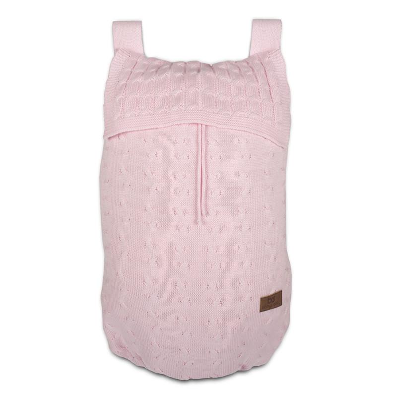 Baby´s Only Cable Uni Storage Bag - Taška na postýlku - Baby Pink