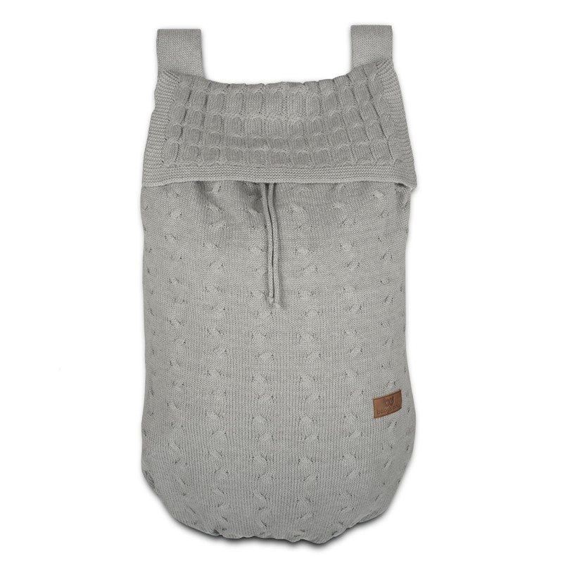 Baby´s Only Cable Uni Storage Bag - Taška na postýlku - Light Grey