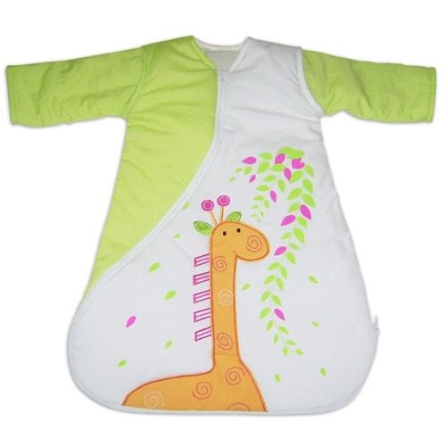 PurFlo SleepSac Embroidered - Vyšívaný spací pytel - DOPRODEJ Giraffe 2.5Tog 0-3 měsíce