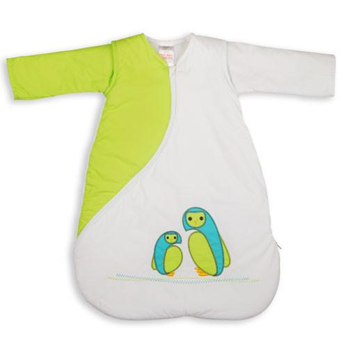 PurFlo SleepSac Embroidered - Vyšívaný spací pytel - Owl Kiwi 2.5 TOG 3-9 měsíců