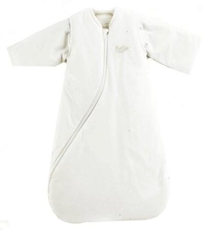 PurFlo SleepSac Colours White - Spací pytel - White 1.0TOG 0-3 měsíce