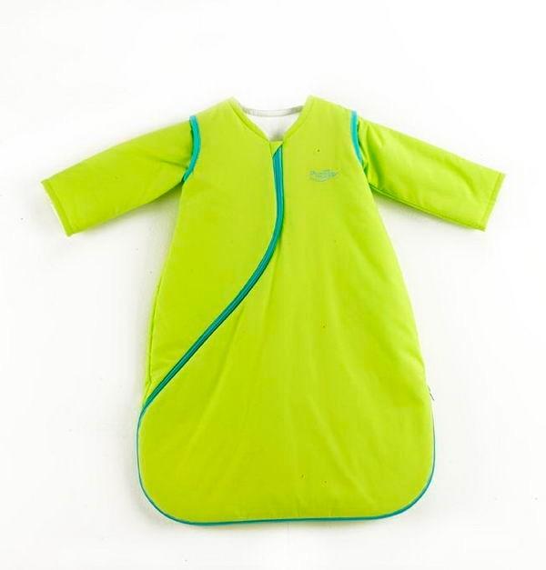 PurFlo SleepSac Colours Kiwi Green - spací pytel - DOPRODEJ Kiwi Green 1.0TOG 3-9 měsíců
