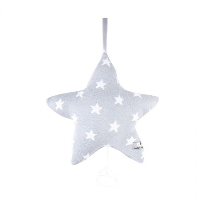 Baby´s Only Star Musicbox Star - Hudební hvězda - Grey / White