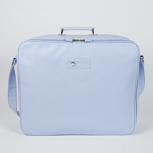 "pasito a pasito® Swarovski Element Maternity Bags ""Suitcase"" - Kufřík do porodnice - Blue Cloud"