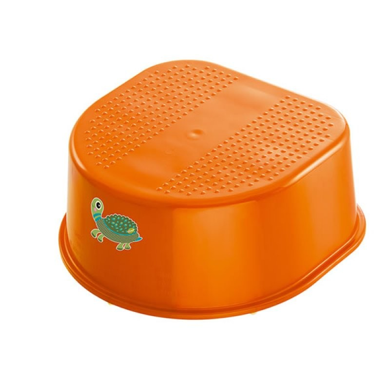 "Rotho® Bella Bambina ""Step Stool"" - Stupátko - Oops Mandarin Turtle - Želva oranžová"