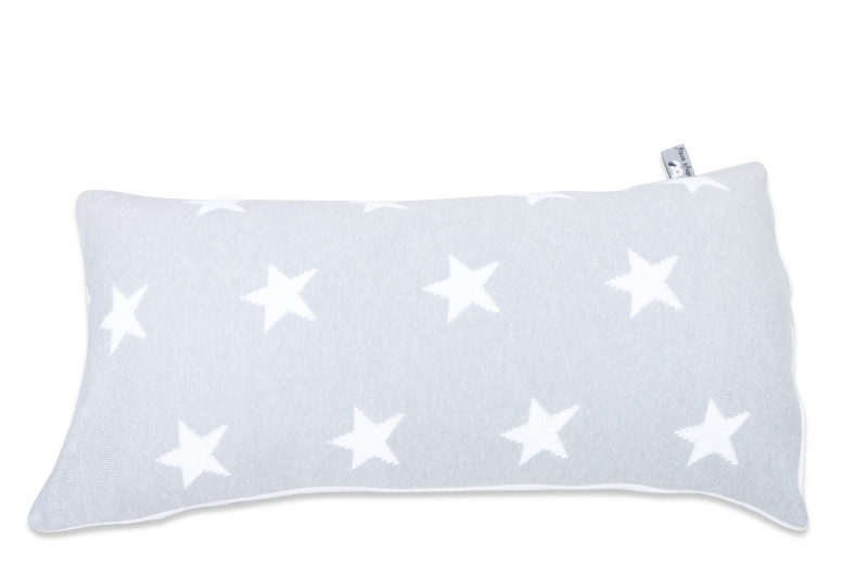 Baby´s Only Star Cushion - Polštářek - 12. Grey/White 60x30