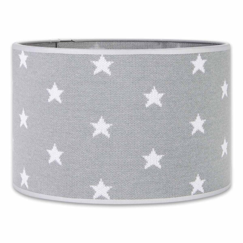Baby´s Only Star Lampshade - Stínítko lampička 30cm - Grey / White