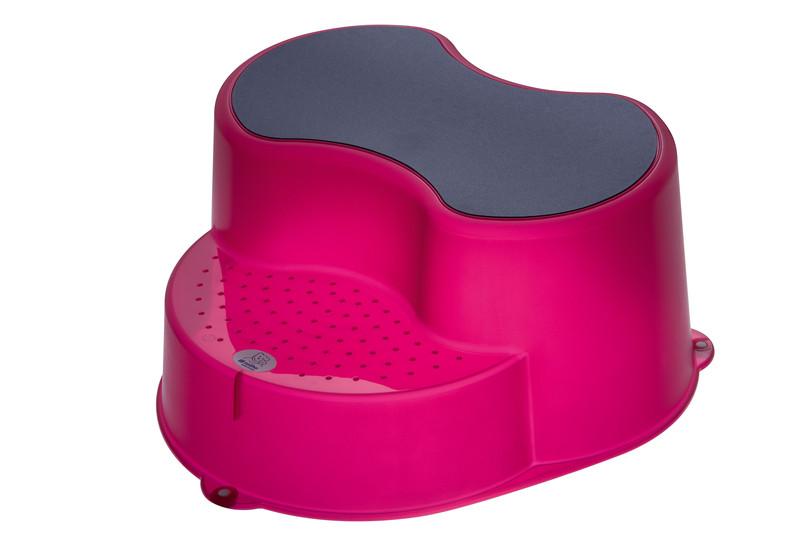 """Rotho® Top """"Step Stool"""" - Stupátko - 10. Translucent Pink - Průsvitně růžová"""
