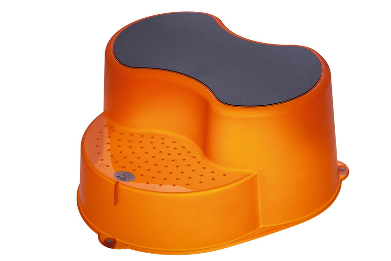"""Rotho® Top """"Step Stool"""" - Stupátko - 12. Translucent Orange - Průsvitně oranžová"""