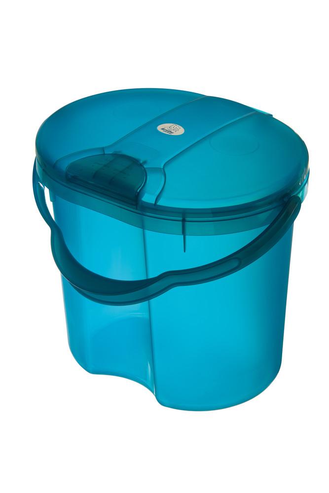 """Rotho® Top """"Nappy Pale"""" - Koš na pleny - 09. Translucent Blue - Průsvitně modrá"""