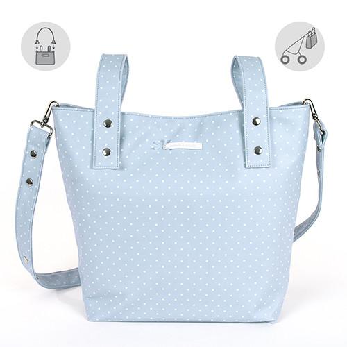 """pasito a pasito® Atelier Maternity Bags """"Changing Bag Small"""" - Přebalovací taška malá - Blue"""