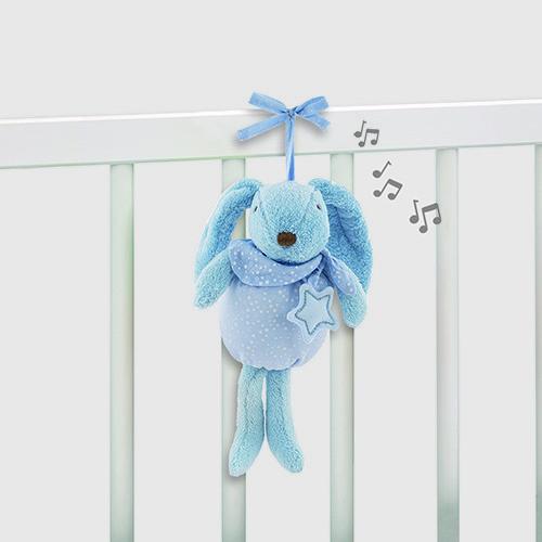 """pasito a pasito® Baby Etoile """"Rabbit Musical"""" - Hudební králíček - Blue"""