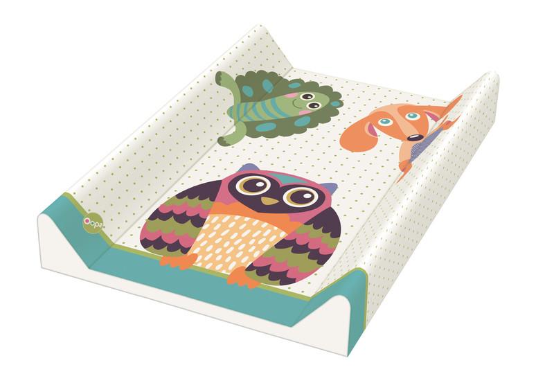 Rotho® Changing mat - Přebalovací podložka s klínem 50 X 70 cm - 05. Oops - Owl