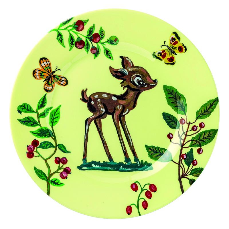 Petit Jour Paris Nathalie Lete Dessert plate - Dezertní talíř - FAWN