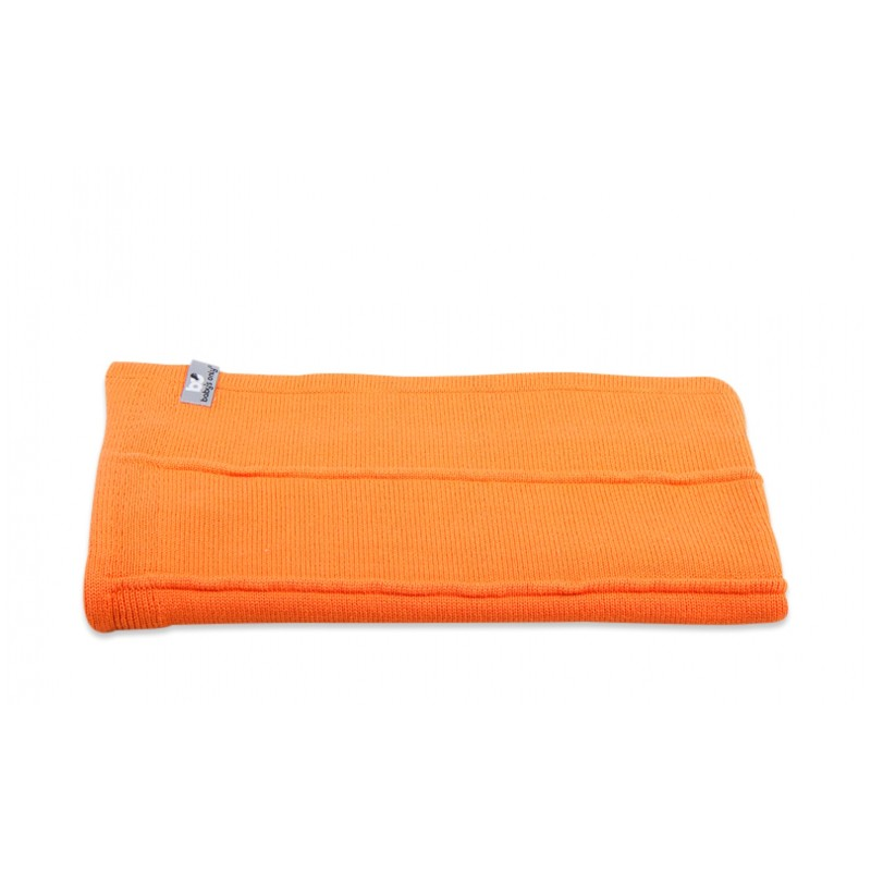 Baby´s Only One Colour Blanket - Dětská deka - 03. Orange 95x70