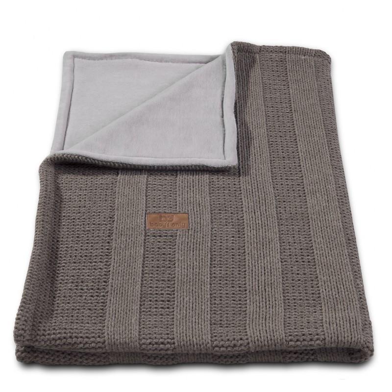 Baby´s Only Robust Rib&Pip Chenille Blanket - Dětská deka - 11. Rib Beige 100x130