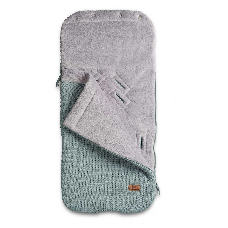 Baby´s Only Robust Pip Footmuff for Car Seat - Fusak do autosedačky 0+ - Stone Green