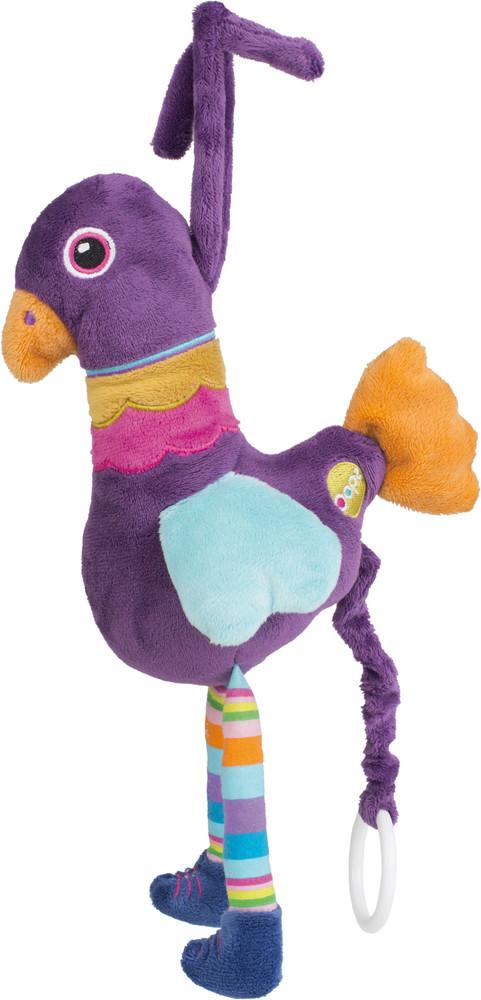 O-OOPS Happy Melody! - Zvířátko s melodií - Peacock - Páv