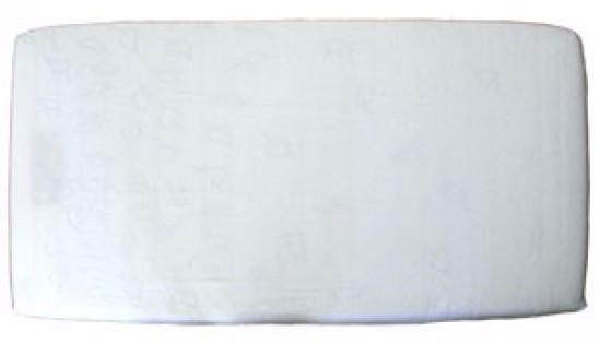 ISI Mini Cover sheets Jersey - prostěradlo - Ecru 60 x 120 cm