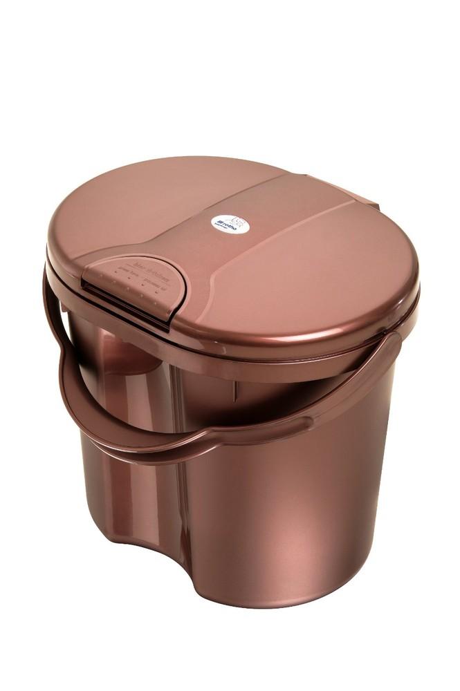 """Rotho® Top """"Nappy Pale"""" - Koš na pleny - Hot chocolate - Čokoláda"""