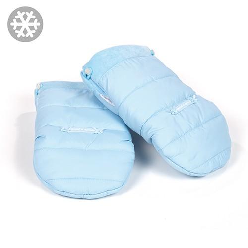 "pasito a pasito® Montblanc Winter ""Gloves Pushchair"" - Rukavice na kočárek - Blue"