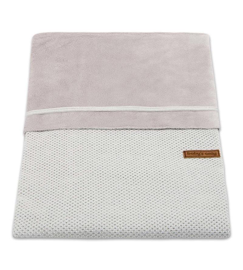 Baby´s Only Classic Duvet Cover - Dětská přikrývka do postýlky - 03. Grey 80 x 80