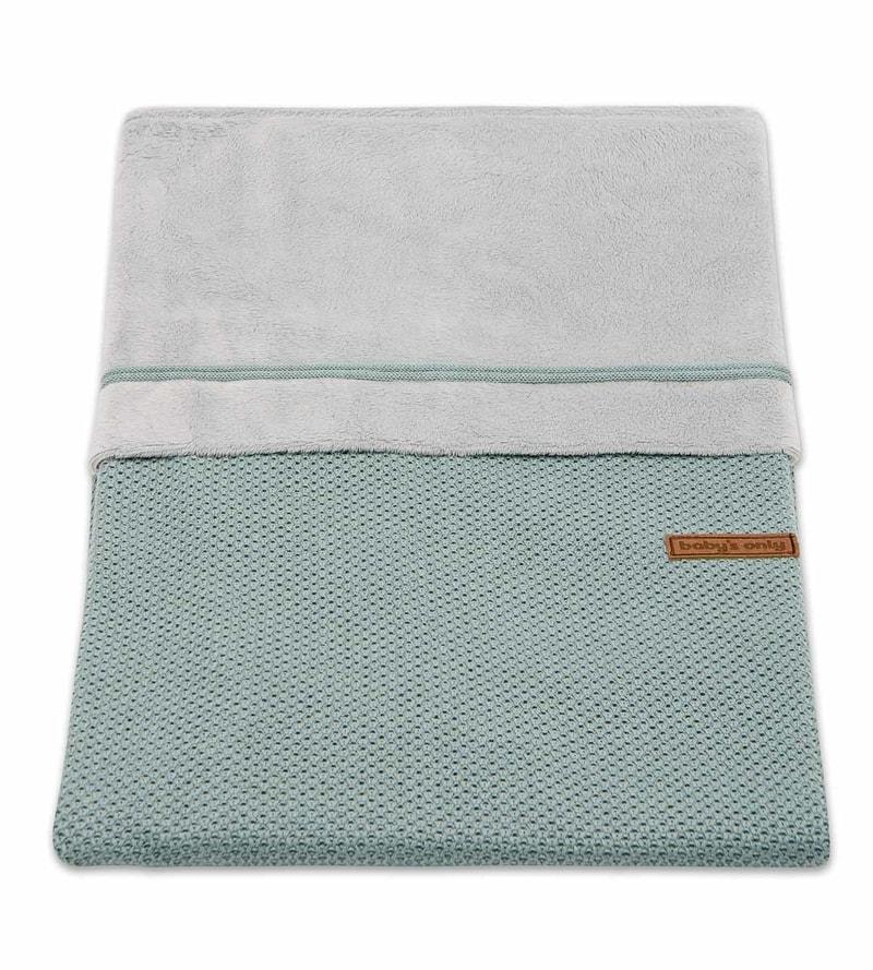 Baby´s Only Classic Duvet Cover - Dětská přikrývka do postýlky - 10. Stone Green 100 x 135