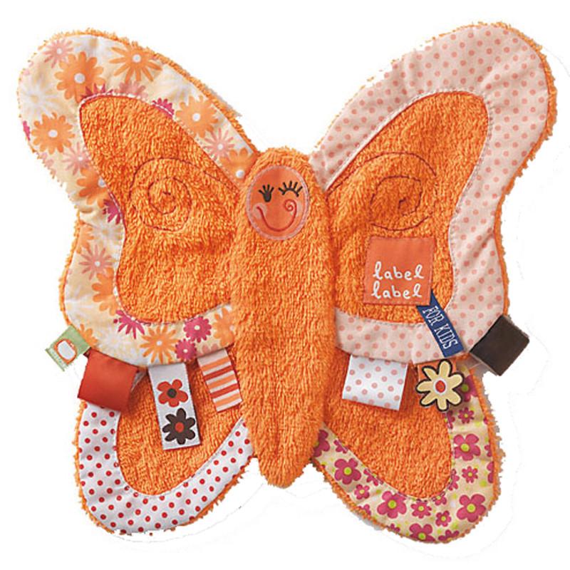 Label-Label Original - Muchláček froté - Butterfly