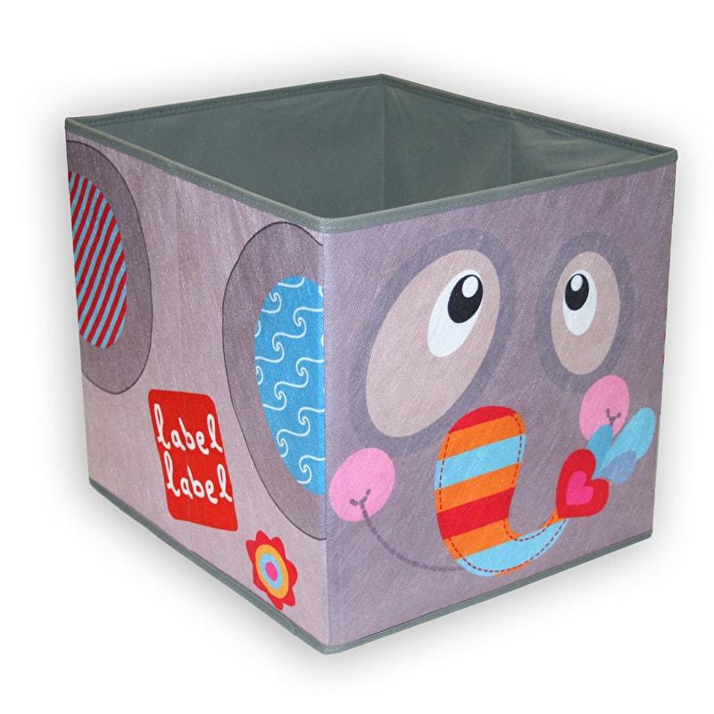 Label-Label - Storage Box - Elefant