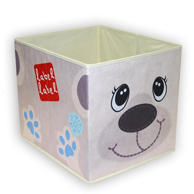 Label-Label - Storage Box - Polar Bear