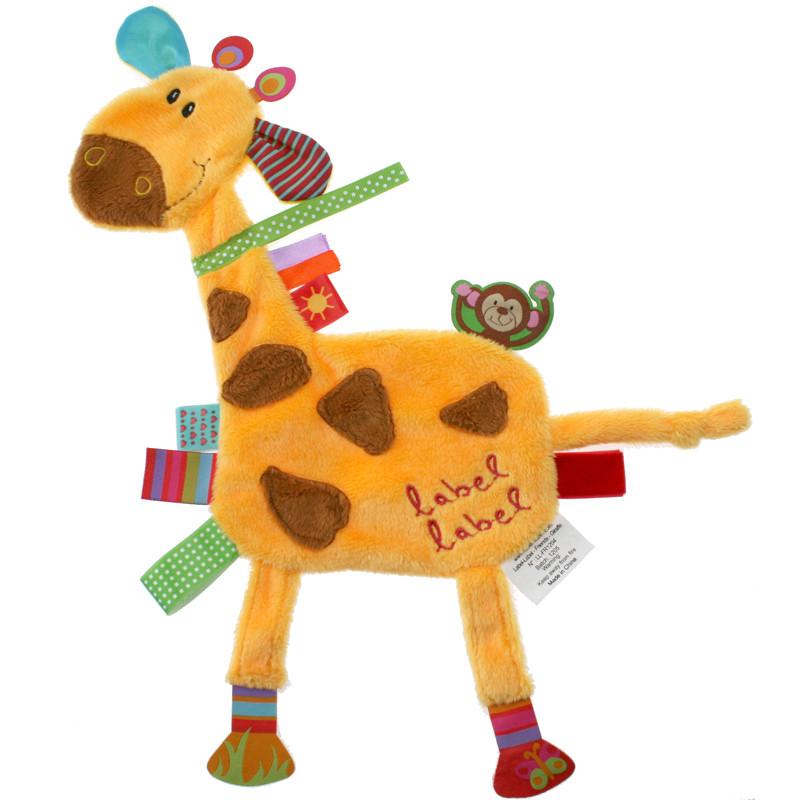 Label-Label Friends Luxusní muchláček - Giraffe