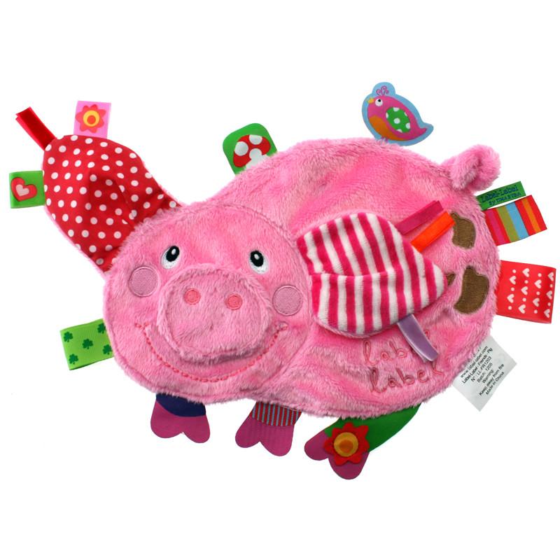 Label-Label Friends Luxusní muchláček - Pig