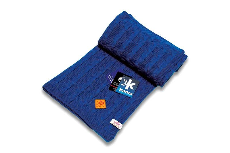 Dětská deka 100 x 120 cm - Světle modrá