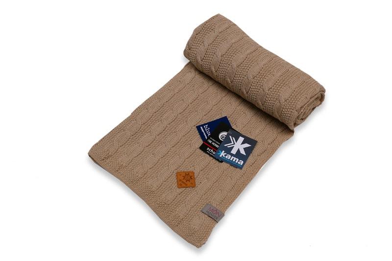 Dětská deka 100% 100 x 120 cm - Béžová