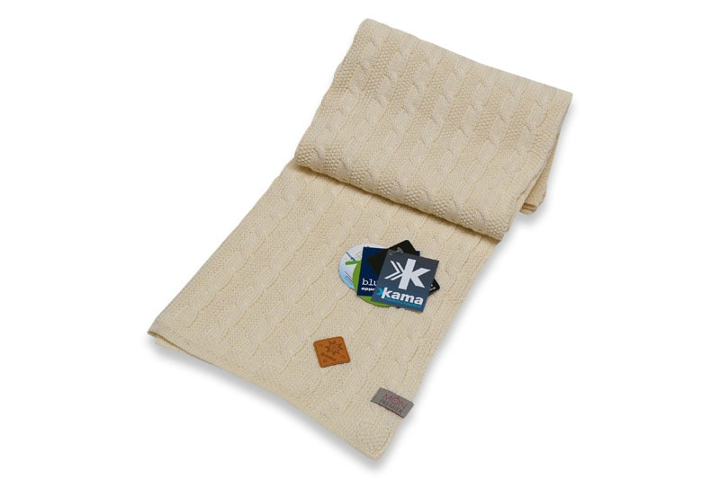 Dětská deka 100% 70 x 80 cm - Bílá