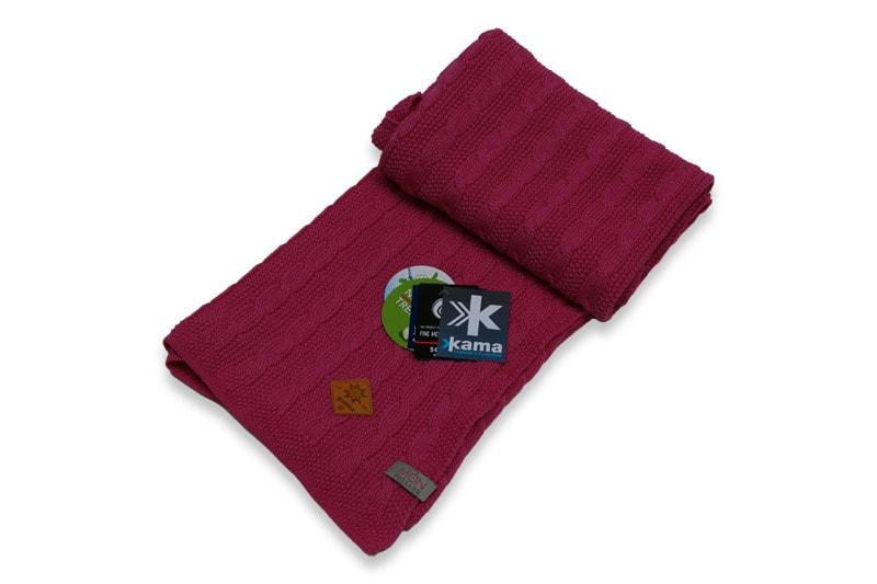 Dětská deka 100% 70 x 80 cm - Světle růžová