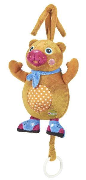O-OOPS Happy Melody! - Zvířátko s melodií - Bear - Medvěd