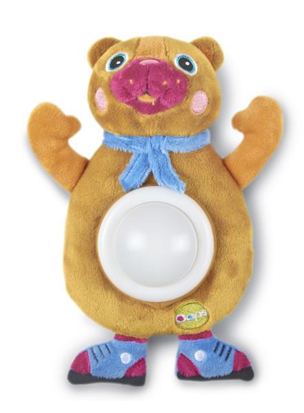 O-OOPS Happy Light! - Zvířátko se světlem - Bear - Medvěd