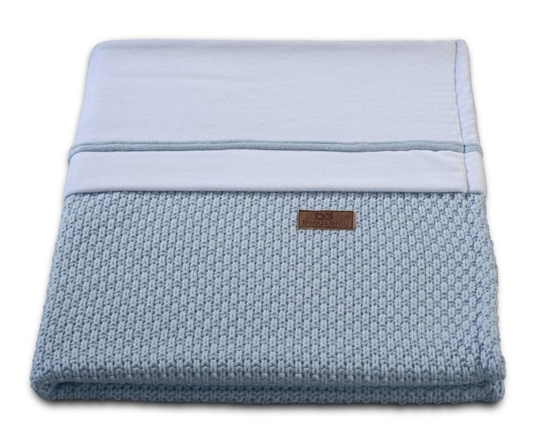 Baby´s Only Robust Rib&Pip Chenille Blanket - Dětská deka - 31. Pip Baby Blue 100x130
