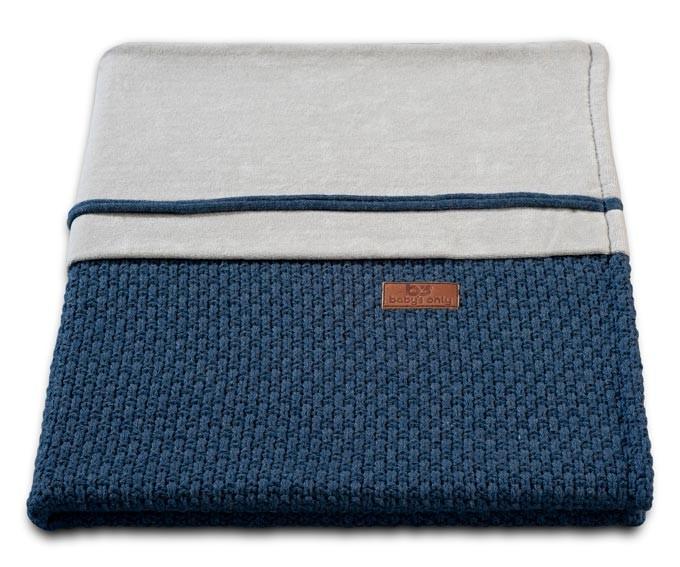 Baby´s Only Robust Rib&Pip Chenille Blanket - Dětská deka - 35. Pip Jeans 100x130