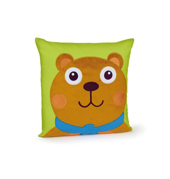 O-OOPS Happy Cushion! - Polštářek - Bear - Medvěd