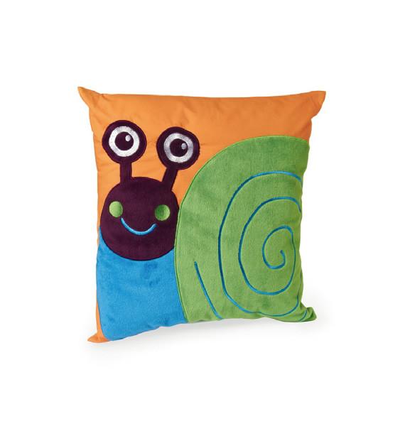 O-OOPS Happy Cushion! - Polštářek - Snail - Šnek