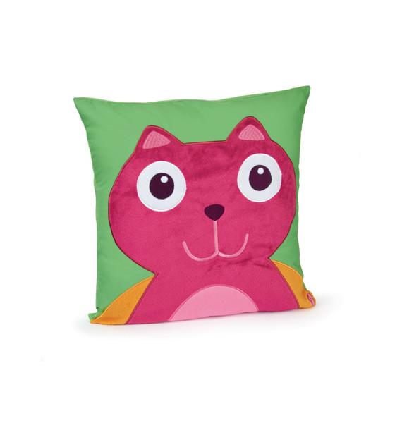 O-OOPS Happy Cushion! - Polštářek - Cat - Kočka