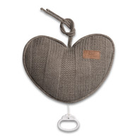 Baby´s Only Robust Musicbox Heart - Hudební srdce - Beige
