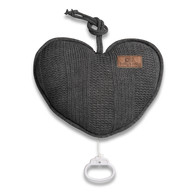 Baby´s Only Robust Musicbox Heart - Hudební srdce - Anthracite