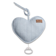 Baby´s Only Robust Musicbox Heart - Hudební srdce - Baby Blue