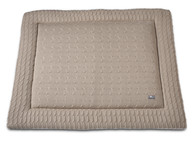 Baby´s Only Cable Uni Playpen Mat - Deka do ohrádky - 12. Beige 85x100