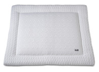 Baby´s Only Cable Uni Playpen Mat - Deka do ohrádky - 13. White 85x100