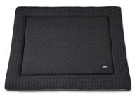 Baby´s Only Cable Uni Playpen Mat - Deka do ohrádky - 17. Anthracite 85x100