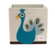 3 Sprouts Storage Box - Úložný box - Peacock